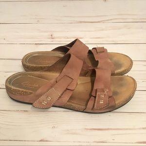 Clark's Leather Sandals